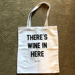 There's Wine in here bag